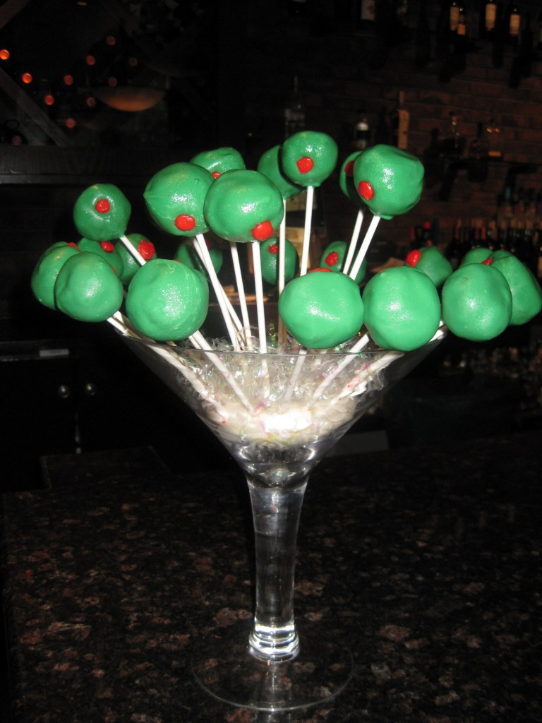 Cake Pops Shaken Not Stirred It S Always Someone S