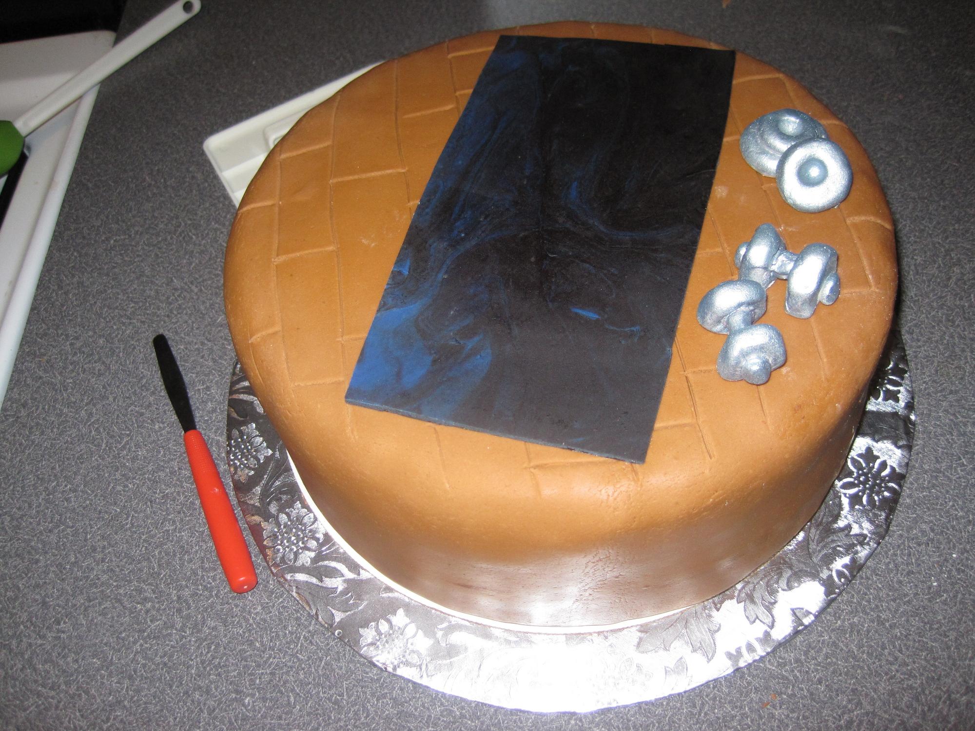 30th Birthday Gym Cake Its Always Someones Birthday