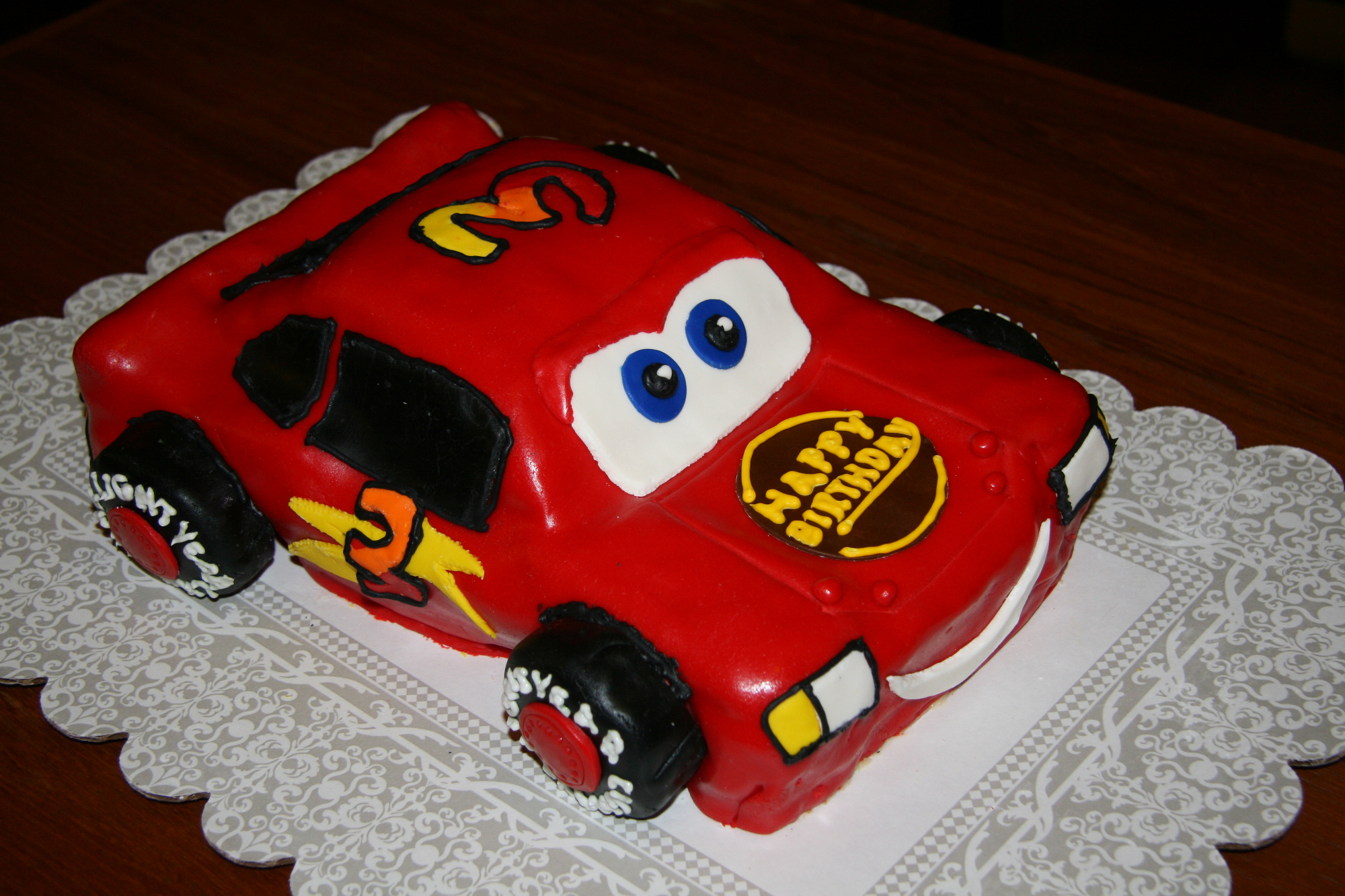 Lightning McQueen birthday cake Its Always Someones Birthday