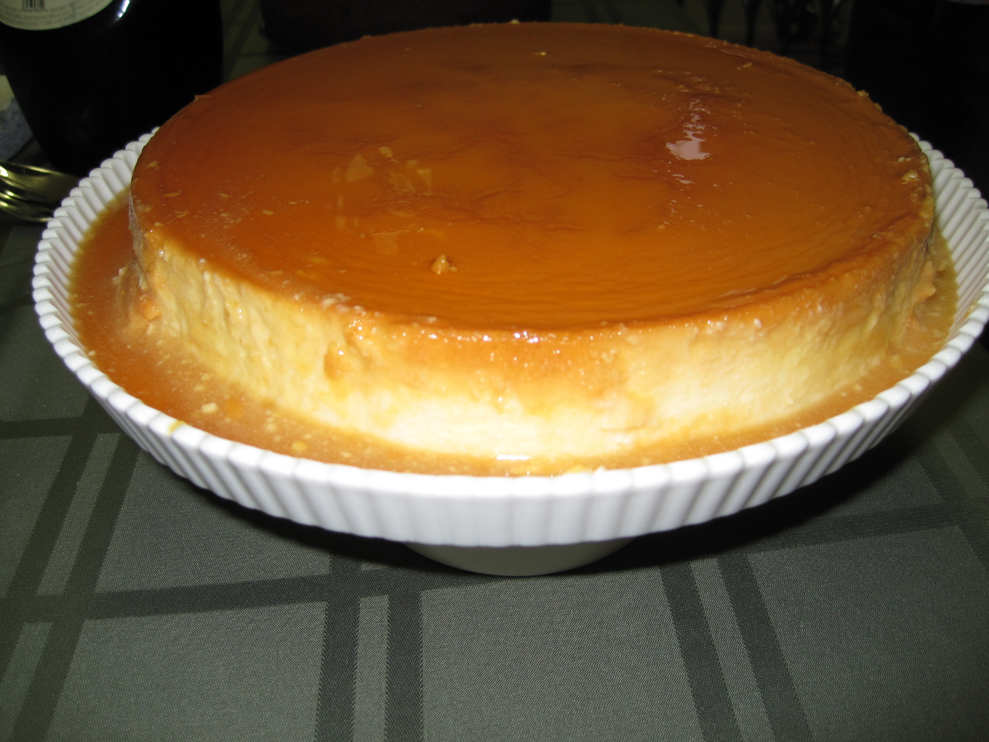 Coconut Milk-Cream Cheese Flan | It's