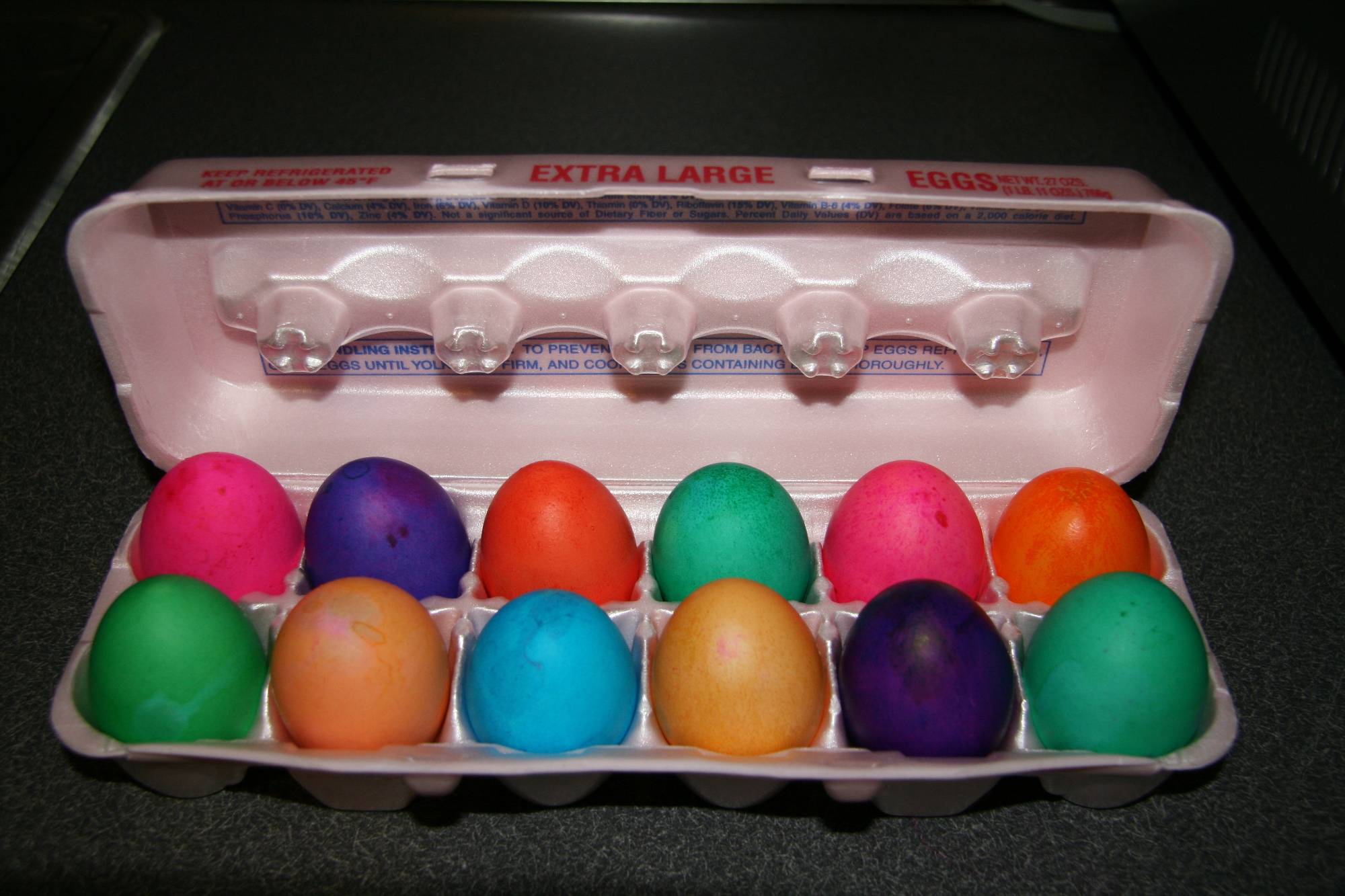 Ultra Vibrant Easter Eggs with Wilton Color Gel | It\'s Always ...