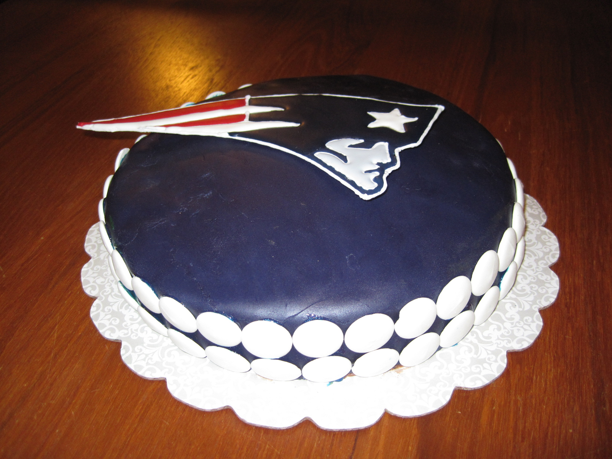 Patriots Superbowl 2012 Cake Its Always Someones Birthday