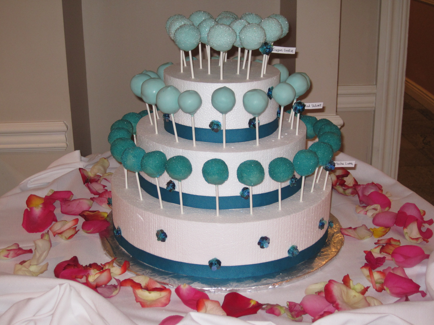 Another Bridal Shower Display Of Cake Pops It S Always Someone S